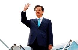 Thủ tướng Nguyễn Tấn Dũng tới thành phố Busan của Hàn Quốc