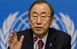 Tổng thư ký LHQ thăm ba nước tâm dịch Ebola