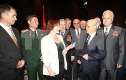 Cuộc gặp xúc động của cựu chiến binh Nga - Belarus - Việt Nam