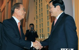 Chủ tịch nước tiếp cựu Quốc Vụ khanh Nhật Bản