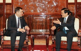 Chủ tịch nước tiếp Chủ tịch Ủy ban an ninh quốc gia CH Belarus