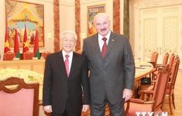 Củng cố, phát triển quan hệ hữu nghị truyền thống Việt Nam - Belarus