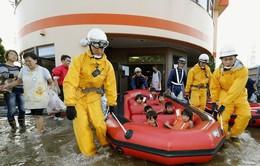 Bão Vongfong đổ bộ Nhật Bản, ít nhất 20 người bị thương