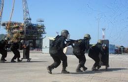 Diễn tập phòng chống khủng bố, đảm bảo an ninh hàng hải