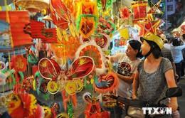 """Rực rỡ sắc màu """"Phố Lồng đèn"""" tại TP Hồ Chí Minh"""