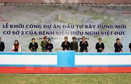Khởi công xây dựng cơ sở 2 của Bệnh viện Việt Đức và Bạch Mai