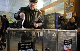 Miền Đông Ukraine công bố kết quả bầu cử sơ bộ