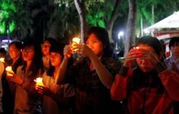 Lễ tưởng niệm các nạn nhân bị tai nạn giao thông tại Hà Nội