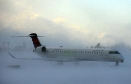 Mỹ: Bão tuyết hoành hành, hàng nghìn chuyến bay bị hủy