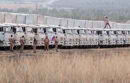 Đoàn xe viện trợ nhân đạo thứ 2 của Nga đến Ukraine