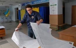 """Báo chí quốc tế """"nóng"""" cùng bầu cử Quốc hội Ukraine"""