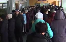 Ukraine: Biểu tình sau khi chính phủ cắt giảm dịch vụ công