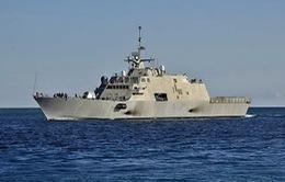 Mỹ triển khai tàu chiến mới tại châu Á