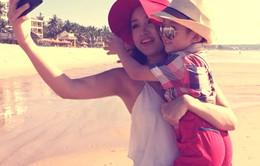 """Khoảnh khắc hạnh phúc của Vân Hugo và con trai trong """"Single Mom"""""""