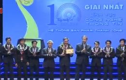 Giải thưởng Nhân tài Đất Việt 2014 lần đầu có 3 giải Nhất