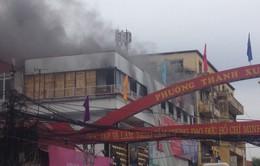 Hà Nội: Cháy lớn tại hàng bán đồ ăn nhanh ởThanh Xuân