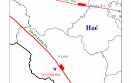 TT-Huế: Động đất 3,3 độ Richter tại A Lưới