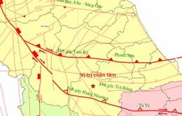 Động đất 2,1 độ Richter tại khu vực Bắc Trà My (Quảng Nam)