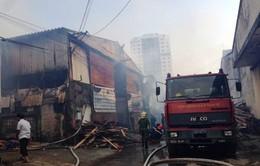 Không có thiệt hại về người trong vụ cháy xưởng sofa tại Hà Nội