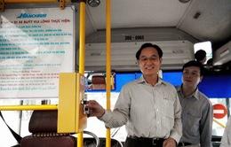 Hà Nội: Thí điểm vé điện tử xe buýt từ tháng 10
