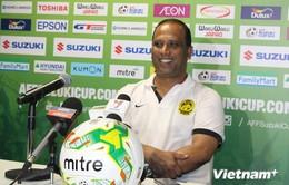 AFF Cup: HLV Malaysia dè chừng những pha tấn công chớp nhoáng của Việt Nam
