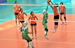 ĐT nữ Việt Nam vào tứ kết Cup bóng chuyền châu Á 2014