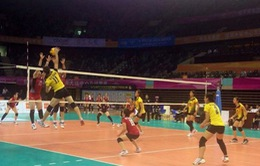 ĐT nữ Việt Nam dừng bước tại tứ kết Cup bóng chuyền châu Á 2014