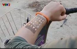 Vòng đeo tay thông minh thao tác trực tiếp trên da