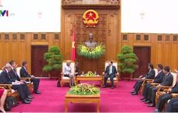 Phó Thủ tướng Vũ Văn Ninh tiếp Thị trưởng Trung tâm tài chính London