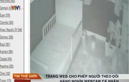 Website theo dõi webcam cá nhântại hơn 100 quốc gia