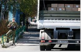 Đoàn xe cứu trợ thứ tư của Nga tới miền Đông Ukraine