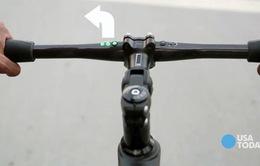 Xe đạp thông minh có khả năng cảnh báo nguy hiểm