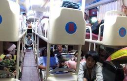 Cấm xe khách giường nằm tuyến huyện Văn Bàn, tỉnh Lào Cai