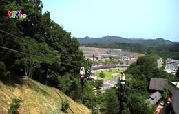 Zipline - Trò chơi cảm giác mạnh hấp dẫn ở Nhật Bản