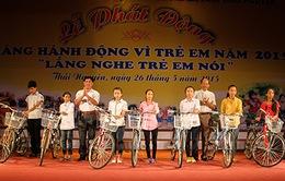 Thái Nguyên: Phát động Tháng hành động vì trẻ em