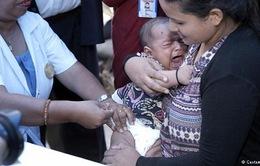 Nepal gấp rút tiêm vaccine cho hơn 500.000 trẻ