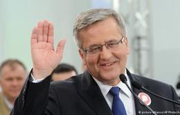 Ba Lan: Tiến hành vòng một bầu cử Tổng thống