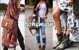 Thời trang mùa Thu nổi bật với phong cách Bohemian