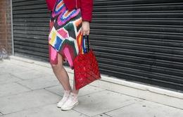 """Những kiểu túi xách cực """"độc"""" ở Tuần lễ Thời trang London"""
