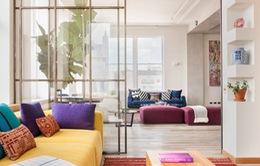 Mê mẩn với căn hộ tuyệt đẹp nhiều cửa sổ