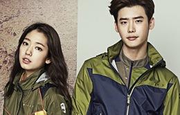 Park Shin Hye tái hợp Lee Jong Suk trong bộ ảnh quảng cáo mới