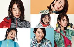 """""""Hồ ly"""" Shin Min Ah khỏe khoắn với trang phục thể thao"""