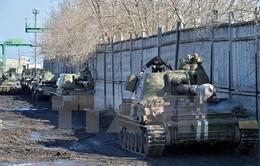 Ukraine hoàn tất việc rút vũ khí hạng nhẹ ra khỏi khu vực giới tuyến