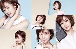 Park Min Young diện đồ trắng sành điệu