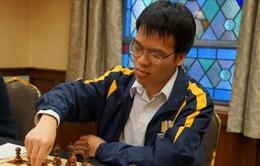 Quang Liêm duy trì vị trí số 2 ở giải cờ vua SPICE Cup 2015