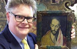 Bức tranh sơn dầu vô danh đạt giá kỷ lục 4 tỷ đồng