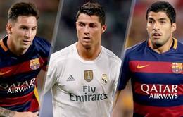 Messi: Suarez xứng đáng hơn Ronaldo trong top 3 Quả bóng Vàng