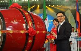 Khai mạc Đại hội quốc tế Võ cổ truyền Việt Nam
