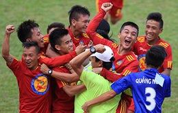 VCK U17 Quốc gia: U17 Quảng Ngãi bất ngờ đả bại Đồng Tháp
