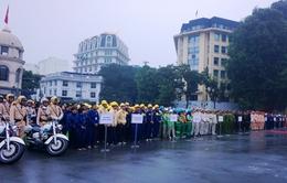 Hà Nội: Ra quân thực hiện Năm trật tự văn minh đô thị 2015